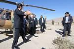 Prezident Rúhání navštívil zemětřesením zničená místa