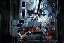 V Belgii se po výbuchu zhroutily tři domy
