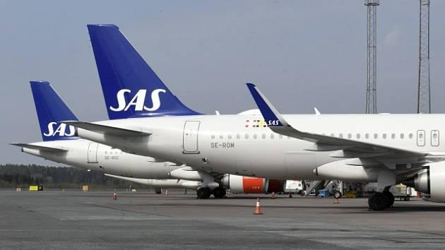 Letouny společnosti SAS. Ilustrační snímek