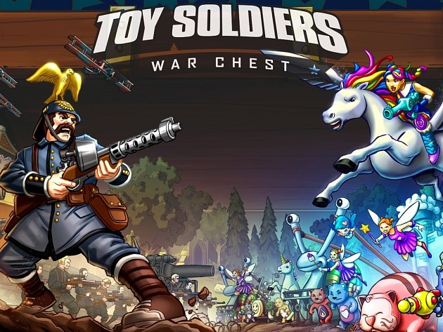 Počítačová hra Toy Soldiers: War Chest.