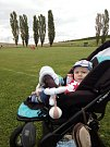 Toto je můj syn na fotbale TJ Sokola Suché.