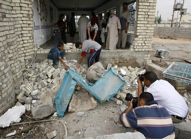 Bombový útok v Iráku