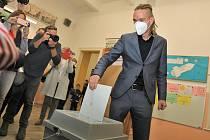 Ivan Bartoš u voleb.