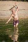 JBC waterline festival, největší středoevropský waterline festival začal 17. srpna v Cikánské zátoce na přehradě v Jablonci nad Nisou.