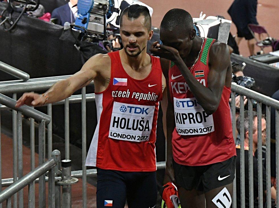 Jakub Holuša na MS v atletice v Londýně
