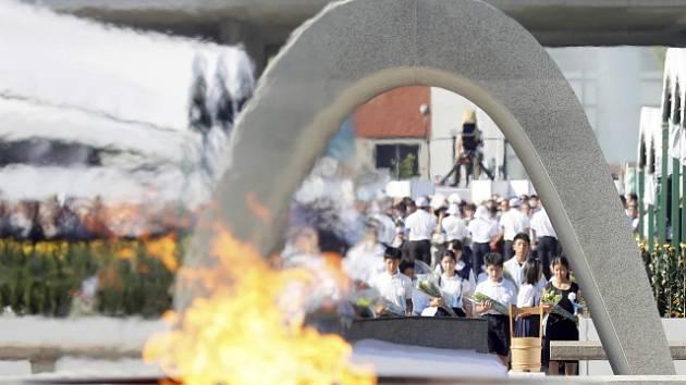 Vzpomínkový ceremoniál v Hirošimě