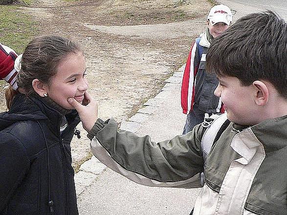 Dětská šikana. Ilustrační foto