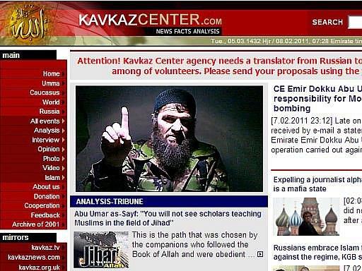 Vůdce muslimských povstalců ze severního Kavkazu Doku Umarov v pondělí prohlásil, že nařídil sebevražedný atentát na moskevské letiště Domodědovo