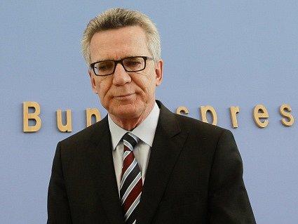 Německý ministr vnitra Thomas de Maiziére.