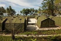 Uprchlické centrum na ostrově Manus
