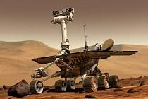 Rover Opportunity na Marsu.