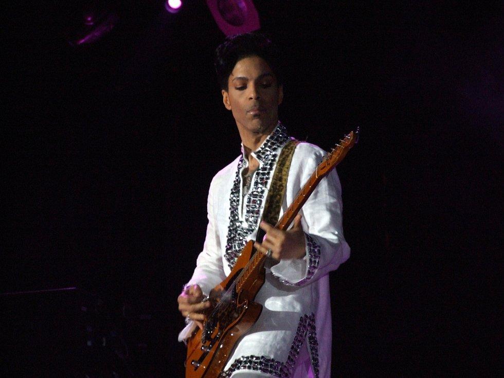 Zpěvák Prince v roce 2008.