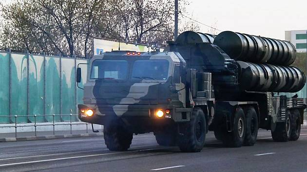 Protiraketový systém S-400