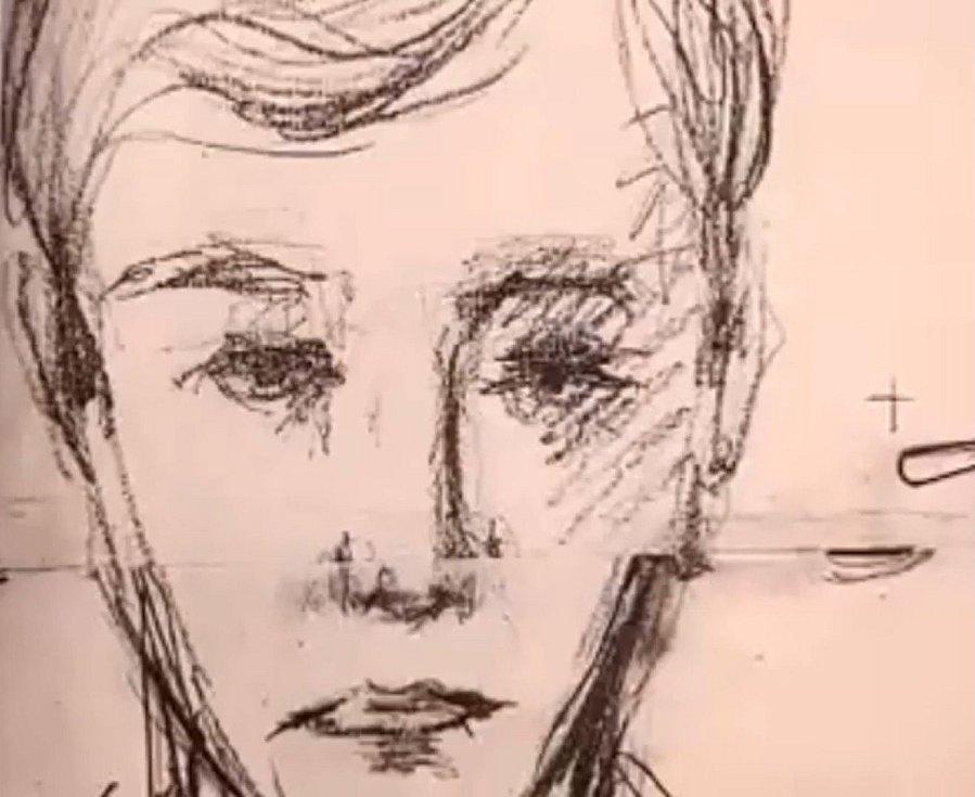 Jeden z identifikačních portrétů sériového vraha