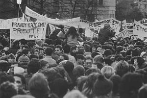 Albertov, listopad 89