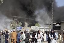 Boje ve městě Kandahár