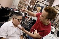Devítiletý To Gia Huy, který požadoval účes po vzoru severokorejského diktátora.