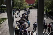 Referendum v Doněcké oblasti.