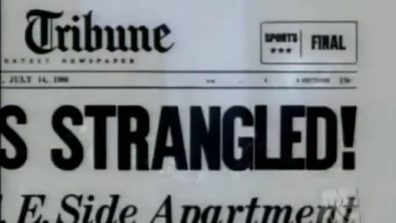 Uškrceny, hlásal novinový titulek. Některé ze zavražděných však byly také ubodány