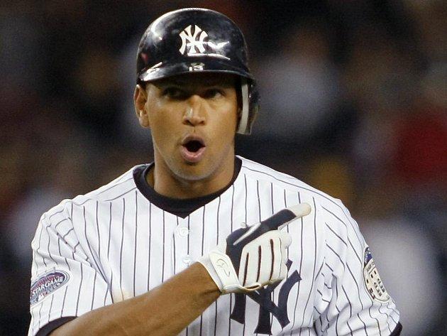 Nejlépe placený hráč zámořské MLB Alex Rodriguez.