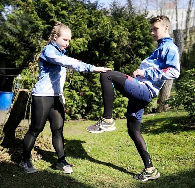 Další díl seriálu, ve kterém si zasportujete s jabloneckou kickboxerkou Martinou Ptáčkovou. A nejen s ní.