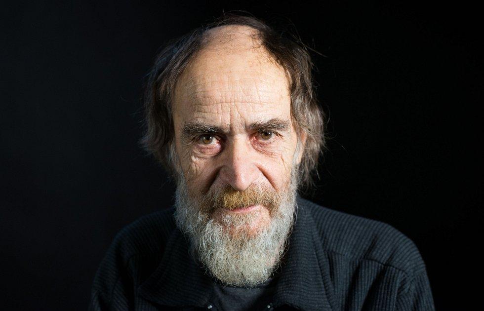 Miroslav Koval při natáčení pro Paměť národa vroce 2016