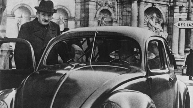 Ferdinand Porsche.