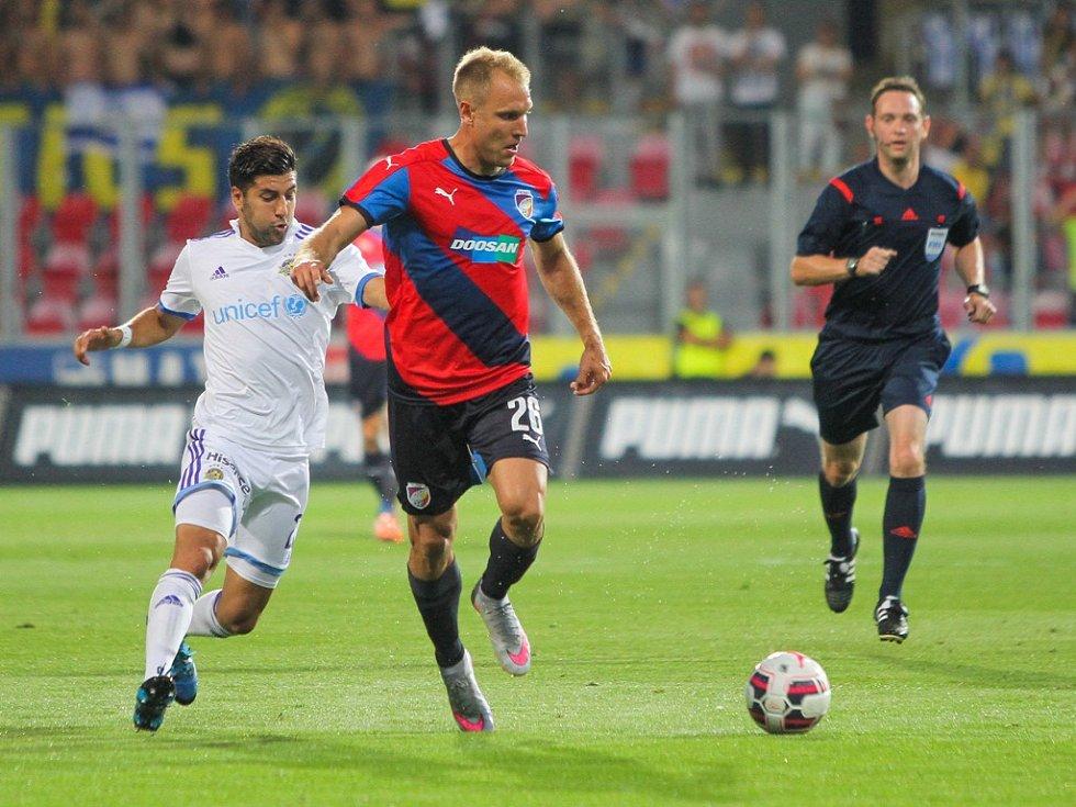 Plzeň - Maccabi Tel Aviv: Daniel Kolář podruhé