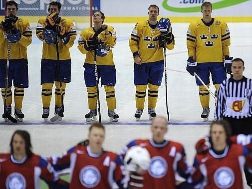 Norští hokejisté na světovém šampionátu získalo skalp Švédů.
