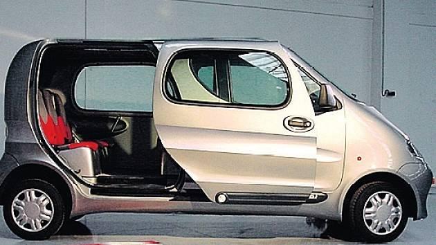 VZDUCHOVÝ OneCAT je pohledný vozík.