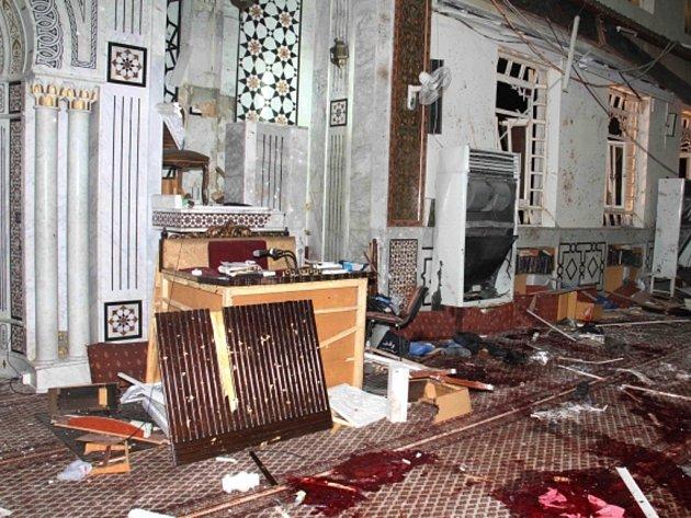 V mešitě Imán v centru Damašku vybuchla bomba, desítky mrtvých....