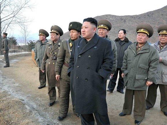 Kim Čong Un s vedením severokorejské armády