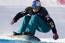 Snowboardcrossařka Eva Samková na mistrovství světa.