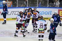Utkání 1. kola hokejové extraligy HC Sparta Praha - HC Škoda Plzeň