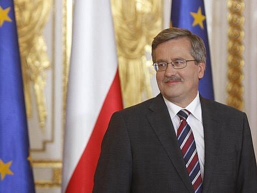 Polský prezident Bronislav Komorowski