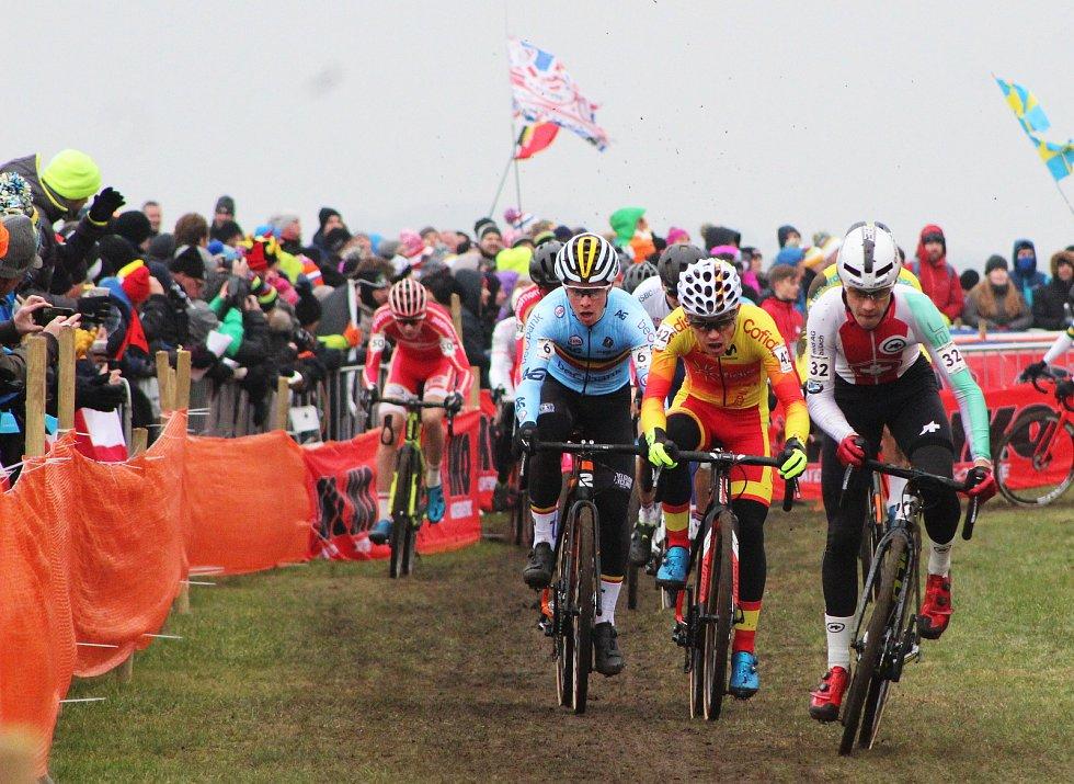 Závod mužů do 23 let ovládl na MS v dánském Bogense.