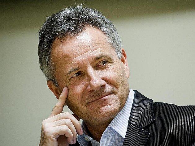 Trenér fotbalistů Jablonce František Komňacký.