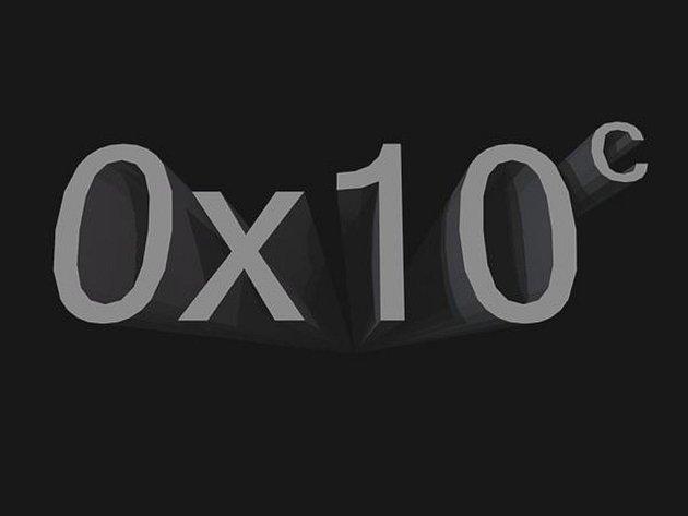 Logo počítačové hry 0x10c.
