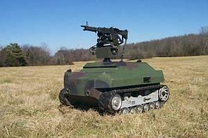 Autonomní zbraň americké armády Gladiator