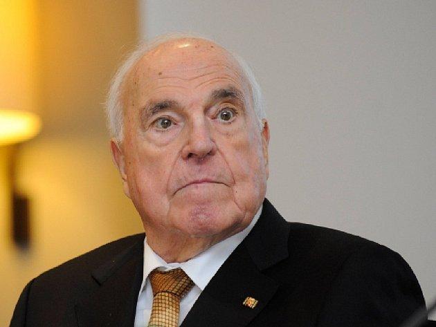 Bývalý německý kancléř Helmut Kohl.