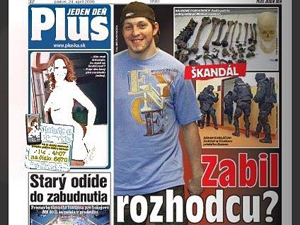 O případu jako první informoval slovenský deník Plus.