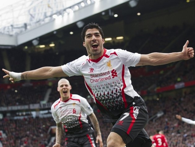 Hvězdný útočník Luis Suárez.