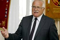 Prezident Václav Klaus schválil Paroubkův postup.