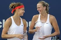 Petra Kvitová si po zisku titulu v New Havenu popovídala s Lucií Šafářovou nejen o finálovém zápase