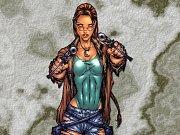 komiksová Lara Croft