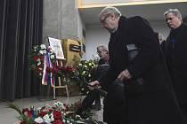 Pohřeb Luboše Dobrovského se konal 7. února 2020 v Praze