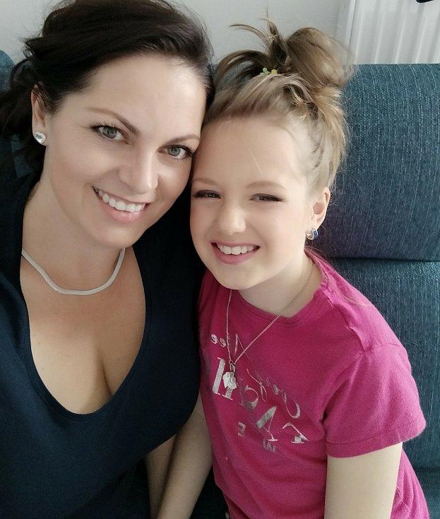 Linda (11) z Plzeňska se už od malička potýká s nádorem na mozku