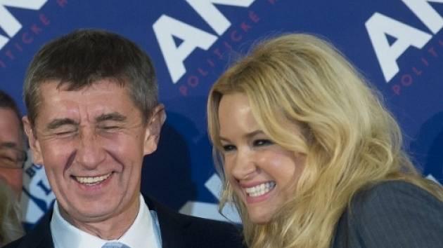 Andrej Babiš a Monika Babišová