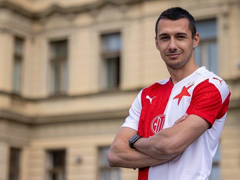 Ivan Schranz v novém dresu.