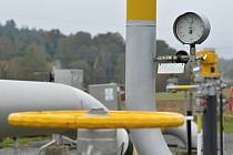 Zásobník zemního plynu - ilustrační foto.